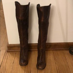 Frye boots size 7 brown